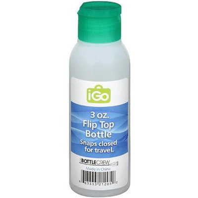 iGo 3 oz Flip Top Bottle, Green