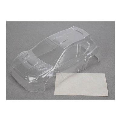 Micro Rally Body, Clear