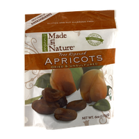 Organic Made in Nature Dried & Unsulfured Orchard Select Apricots
