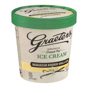 Graeter's Handcrafted French Pot Ice Cream Madagascar Bourbon Vanilla Bean