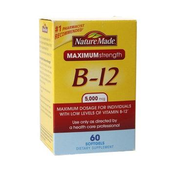Nature Made Maximum Strength Vitamin B-12 5000mcg