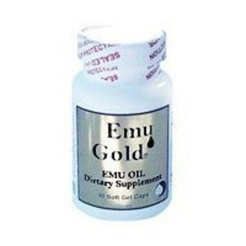 EMU GOLD Emu Oil Certified Pure Grade A Extra Strength 750mg 90 SOFTG