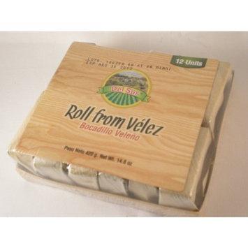 Del Sur Roll From Velez (Bocadillo Veleno) 12 Pack 14.8 Oz