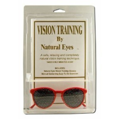 Natural Eyes Red Kid's Glasses Pin Hole Glasses