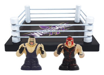 Wicked Cool Toys WWE Thumbpers 2 Pack with Ring - Undertaker & Kane