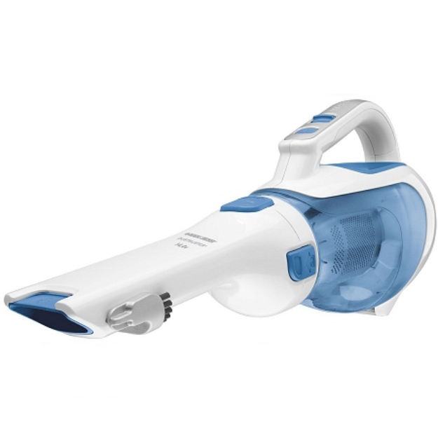 Black & Decker 14.4V Dustbuster Vacuum - Blue & White