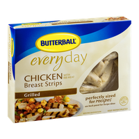 Butterball Everyday Chicken Breast Strips Grilled