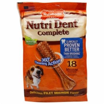 Tfh Publications Nutri Dent Dental Dog Chews Filet Mignon Medium