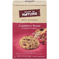 Back to Nature Granola Cookies, Cranberry Pecan, 8.5-Ounce Boxes (Pack of 6)