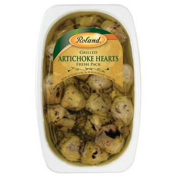 Roland Grilled Roman Artichokes with Stalks, 67 Ounce Tray (Packaging may vary)