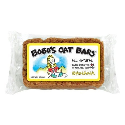 Bobo's Oat Bars All Natural, Banana, 3-Ounce Packages (Pack of 12)