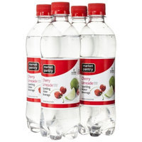 market pantry Market Pantry Cherry Limeade Sparkling Water Beverage, 4 - 16.9 oz.