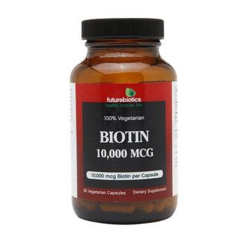 Futurebiotics Biotin 10,000mcg, Vegetarian Capsules