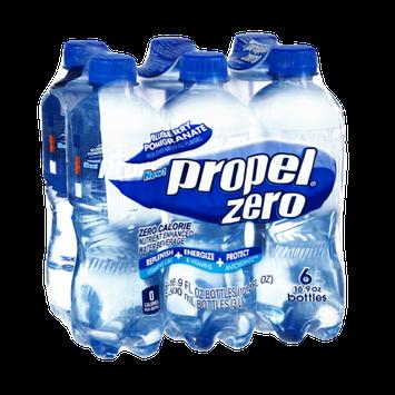 Propel Zero Nutrient Enhanced Zero Calorie Blueberry Pomegranate Water Beverage - 6 PK