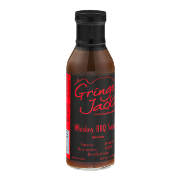 Gringo Jack's Whiskey BBQ Sauce Medium