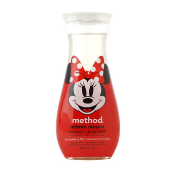 method method shampoo and body wash minnie mouse strawberry