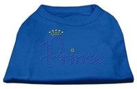 Ahi Prince Rhinestone Shirts Blue Lg (14)