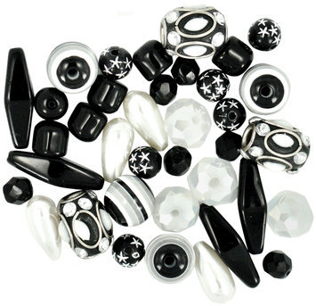 Jesse James 489418 Design Elements Beads 40 Grams-Storm Front