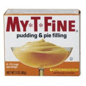 My-t-fine My T Fine Butterscotch Pudding & Pie Filling (Case of 12)