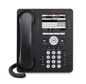 Avaya One-X 9608 IP Phone - Cable - Wall Mountable, Desktop - Gray