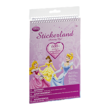 Disney Princess Stickerland Activity Pad - 600 CT