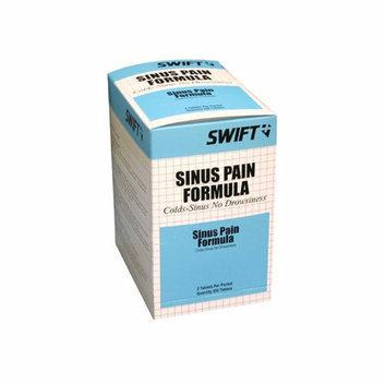 Swift First Aid Sinus Pain Formula Tablets - sinus pain tablet 250/bx