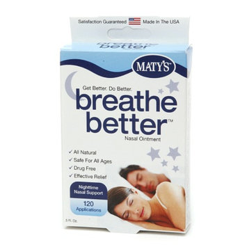 Maty's Breathe Better - Nasal Ointment