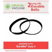 Crucial Vacuum 2 Eureka Style U Belt, Part # 61120A, 61120B, 61120C & 61120D