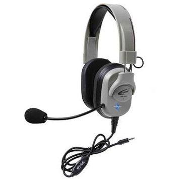 Califone Washable Headphone W/Vol Control, 3.5mm Plug Via Ergoguys