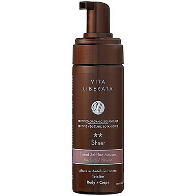 Vita Liberata Tinted Self Tan Mousse For Body Sheer 3.38 oz