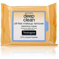 Neutrogena Oil-Free Makeup Remover Wipes Deep Clean