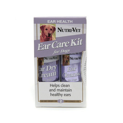 Nutri-Vet Ear Care Kit for Dogs