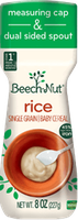 Beech-Nut® Homestyle Single Grain Rice Baby Cereal