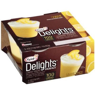 Yoplait® Delights Parfait Lemon Torte Flavored Lowfat Yogurt