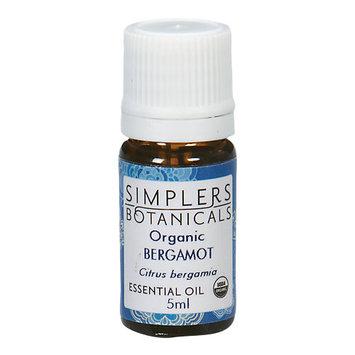 Simplers Botanicals - Organic Essential Oil Bergamot - 5 ml.