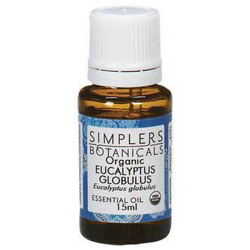 Simplers Botanicals - Organic Essential Oil Eucalyptus Globulus - 15 ml.
