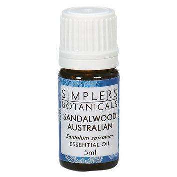 Simplers Botanicals - Organic Essential Oil Sandalwood Australian - 5 ml.