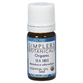 Simplers Botanicals - Organic Essential Oil Tea Tree - 5 ml.