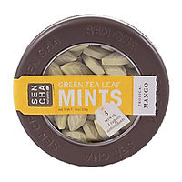 SEN CHA Naturals Green Tea Leaf Mints - Tropical Mango 28g
