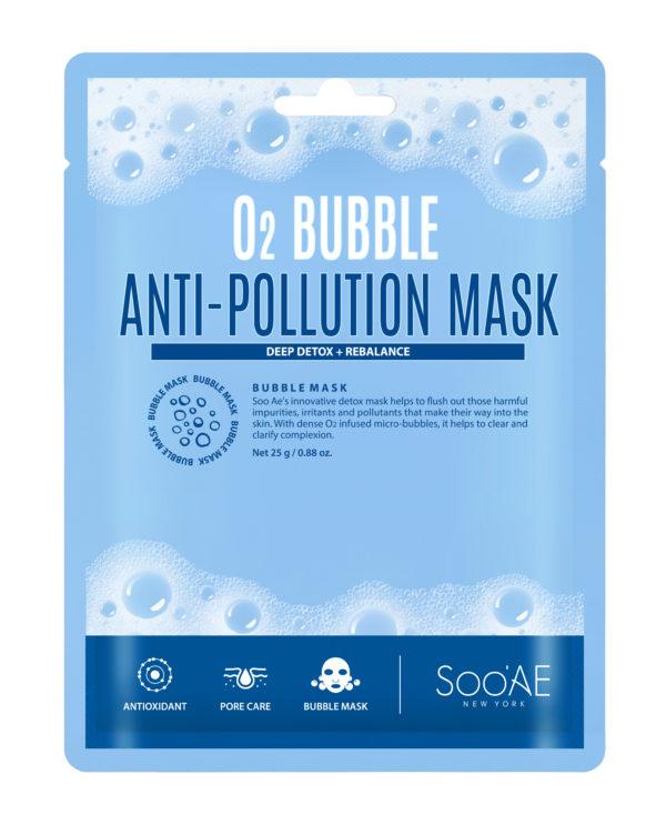 Soo'AE O2- Bubble Anti-Pollution Mask