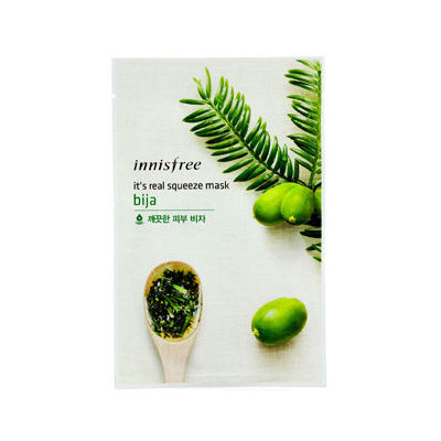 Innisfree - It's Real Squeeze Mask (Bija) 10 pcs