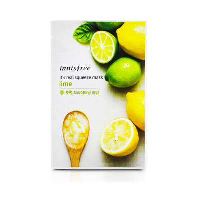 Innisfree - It's Real Squeeze Mask (Lime) 10 pcs