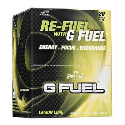 Gamma Enterprises 4070016 G Fuel Lemon Lime 20 Stick Packs