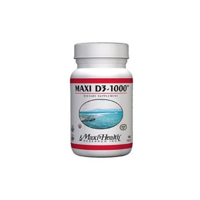 Maxihealth Research Kosher Vitamins Maxi-Health Research Kosher Vitamins - Maxi D3-1000 IU - 90 Tablets