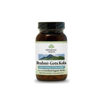 Organic India Usa Organic India Brahmi-Gotu Kola - 90 Vegetarian Capsules