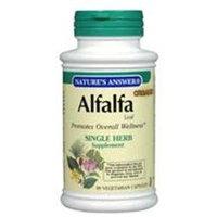 tures Answer Nature's Answer Alfalfa Leaf - 90 Vegetarian Capsules