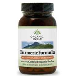 Organic India Usa Turmeric Formula by Organic India - 90 Vegetarian Capsules