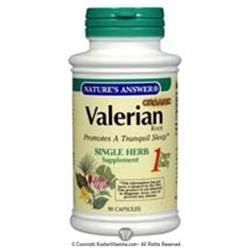 tures Answer Nature's Answer Valerian Root - 90 Vegetarian Capsules