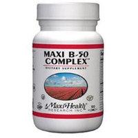 Maxi-Health Research Kosher Vitamins - Maxi B-50 Complex - 100 Capsules