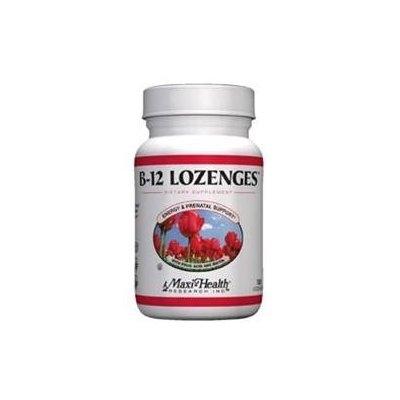 Maxihealth Research Kosher Vitamins Maxi Health Kosher Vitamins 0421875 B12 Lozenges - 180 Lozenges